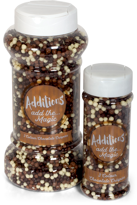 Additions Wholesale Food Service 3 Colour Chocolate Crispies