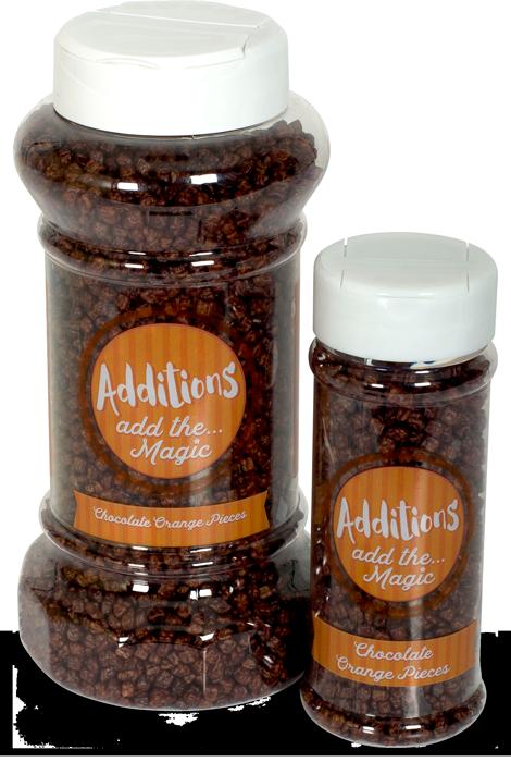 Additions Wholesale Food Service Chocolate Orange Pieces