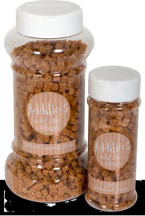 Additions Wholesale Food Service Salted Caramel Fudge