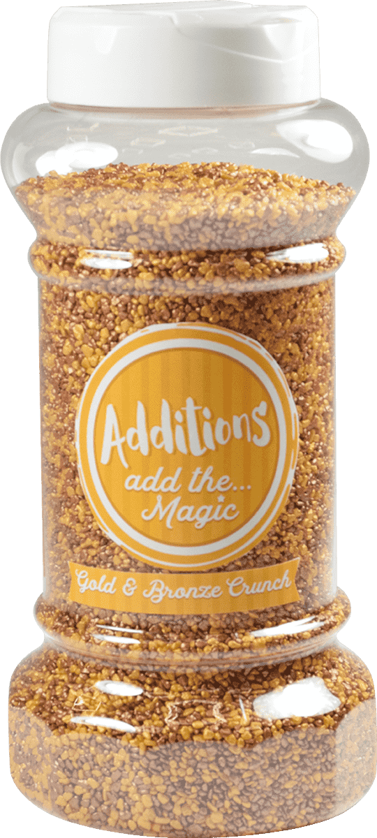 Additions Gold Bronze Crunch