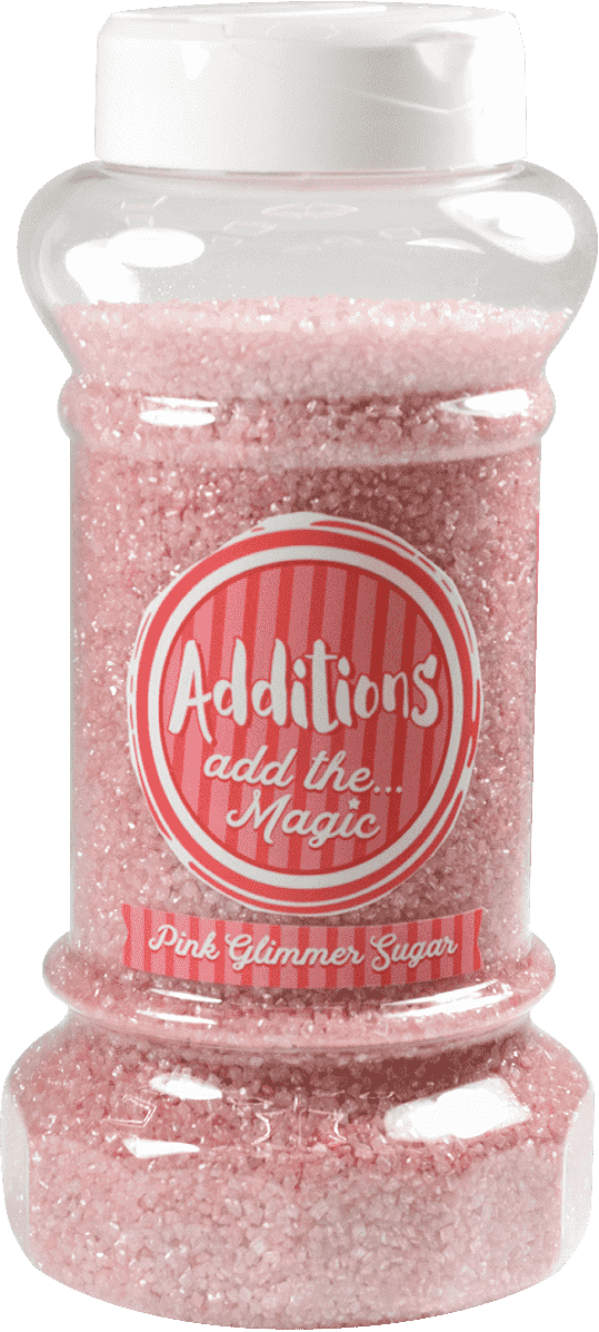 Additions Pink Glimmer Sugar